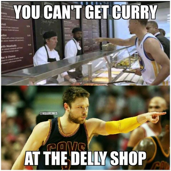 Not Curry at the Delly Shop