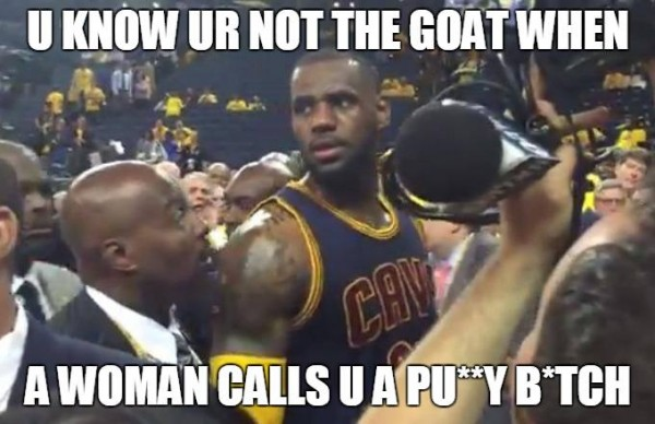 Not the GOAT