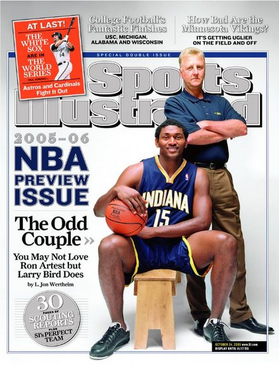 Pacers Cover