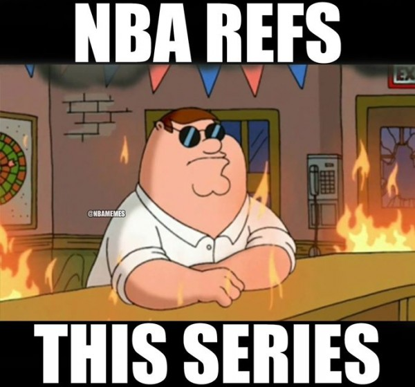 Refs in the finals