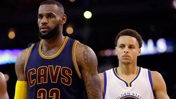 Stephen Curry, LeBron James