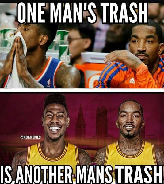 Trash both times