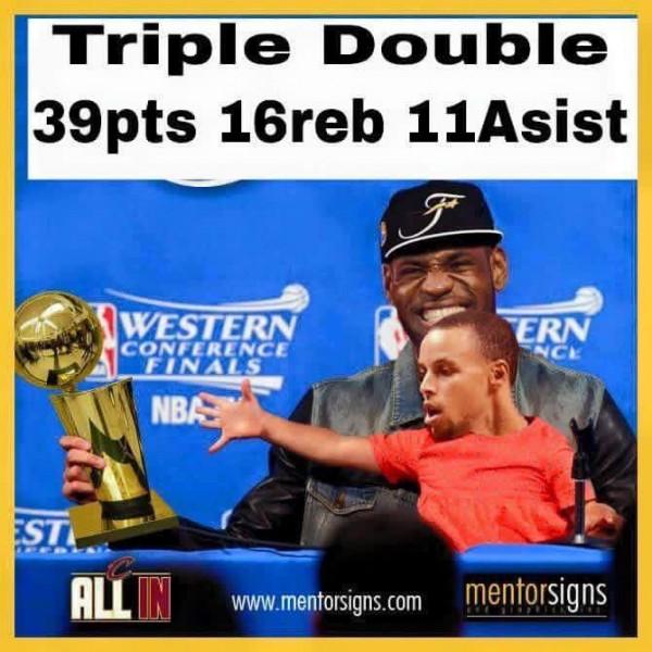 Triple double meme