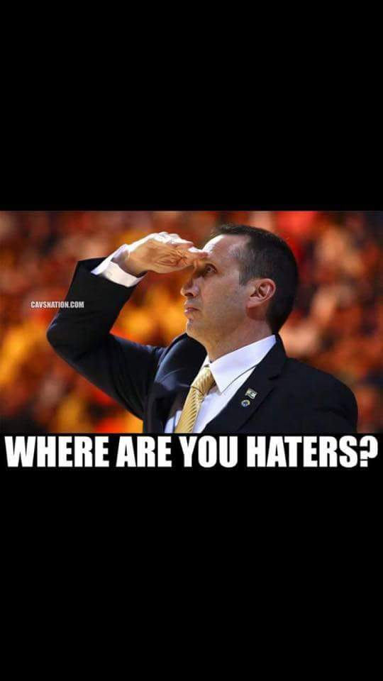 Where are you haters