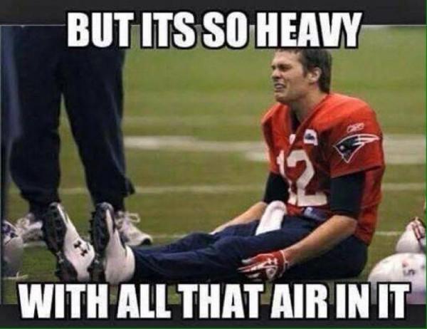 Balls are heavy