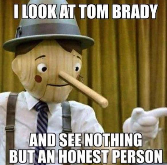 Brady is an honest person