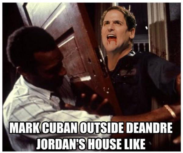 Cuban outside the house