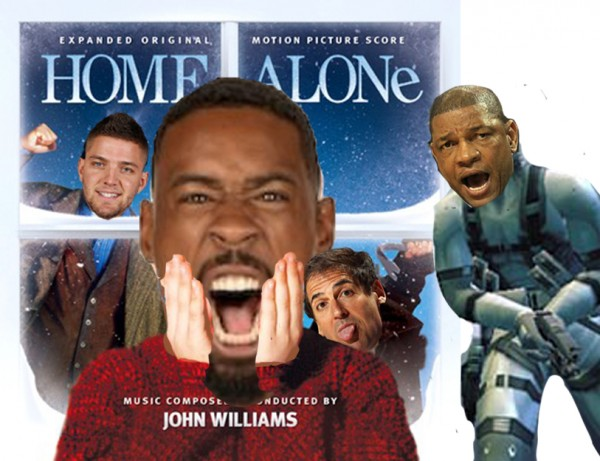 DeAndre Home Alone