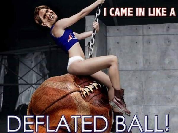 Deflated Ball song