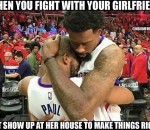 Fight with the girlfriend