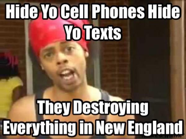 Hide yo cell phone