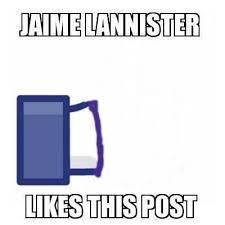 Jaime Lannister joke