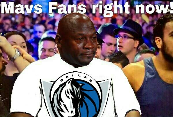 Mavs fans right now
