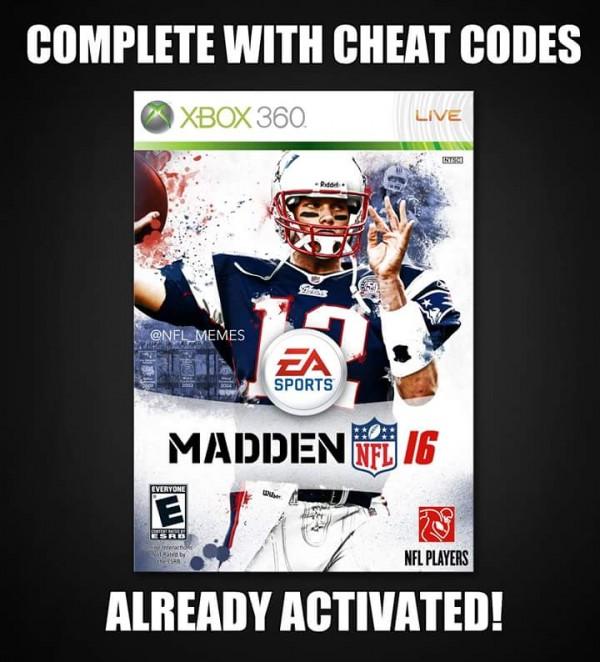New Madden W Cheat Codes