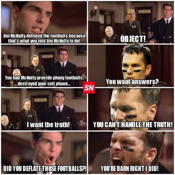 Tom Brady A few good men