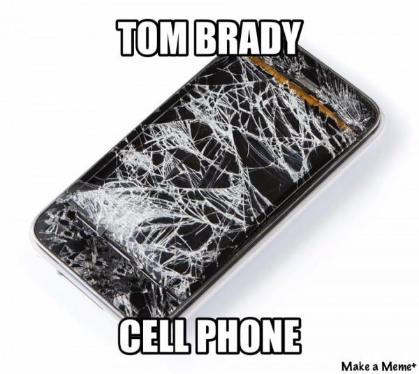 Tom Brady Cell Phone