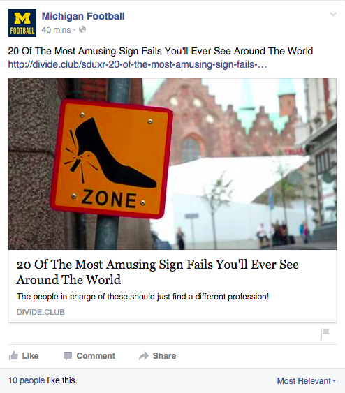 Amusing signs