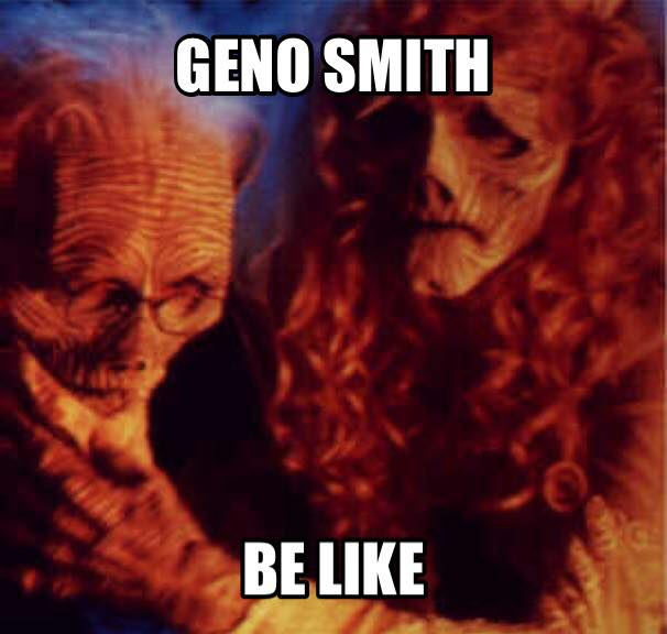 Geno smith be like