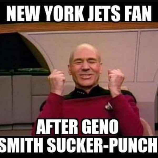 Happy Jets fans