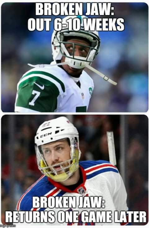 Hockey vs NFL