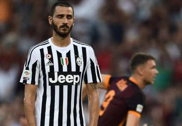 Juventus lose to Roma