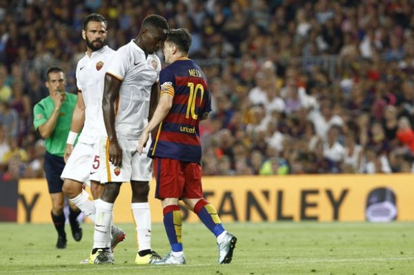 Lionel Messi headbutt