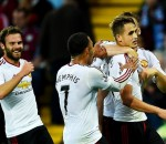 Manchester United beat Aston Villa