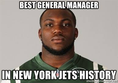 New Jets GM