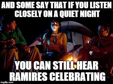 Ramires is celebrating