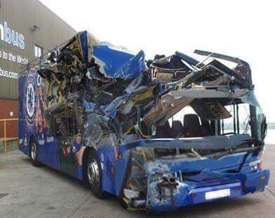 Ruined bus