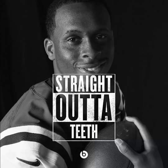 Straight outta teeth