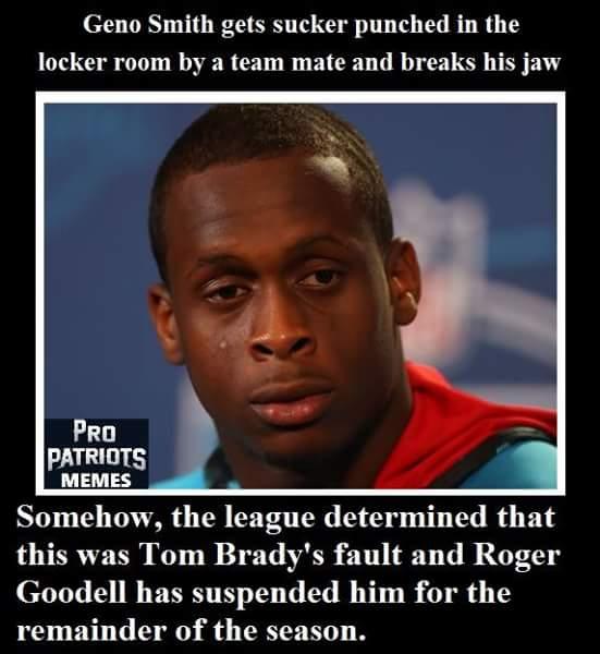 Tom Brady's fault