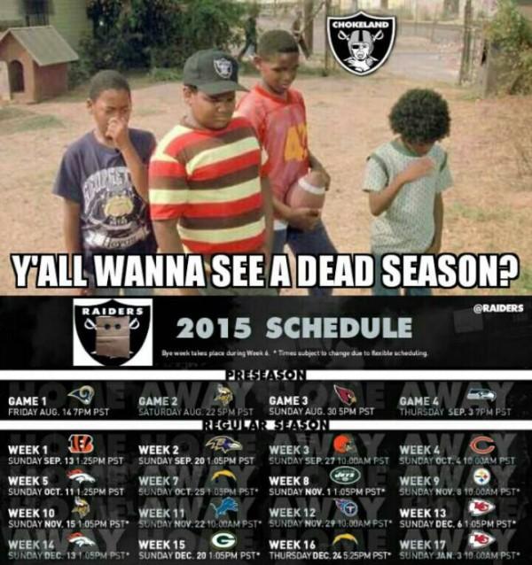 A dead season