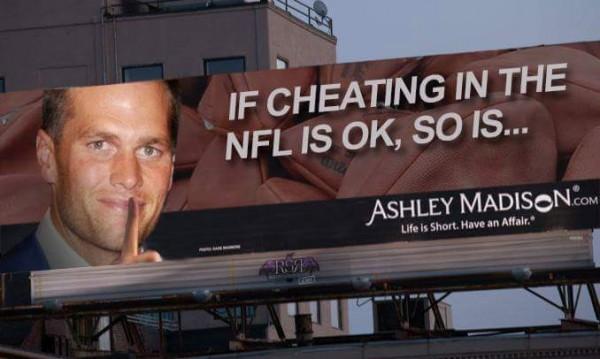 Ashley Madison Tom Brady