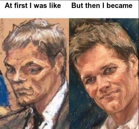 Before after sketches