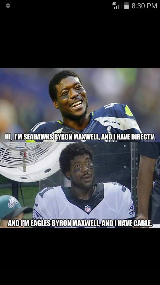 Direct TV vs Cable - Byron Maxwell