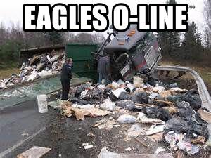 Eagles O-Line garbage