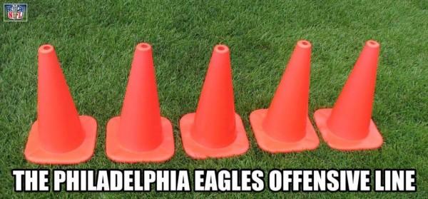 Eagles O-line