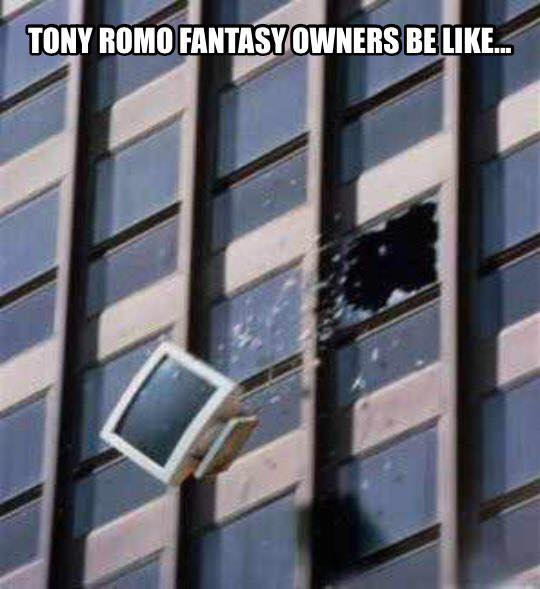 Fantasy owners be like