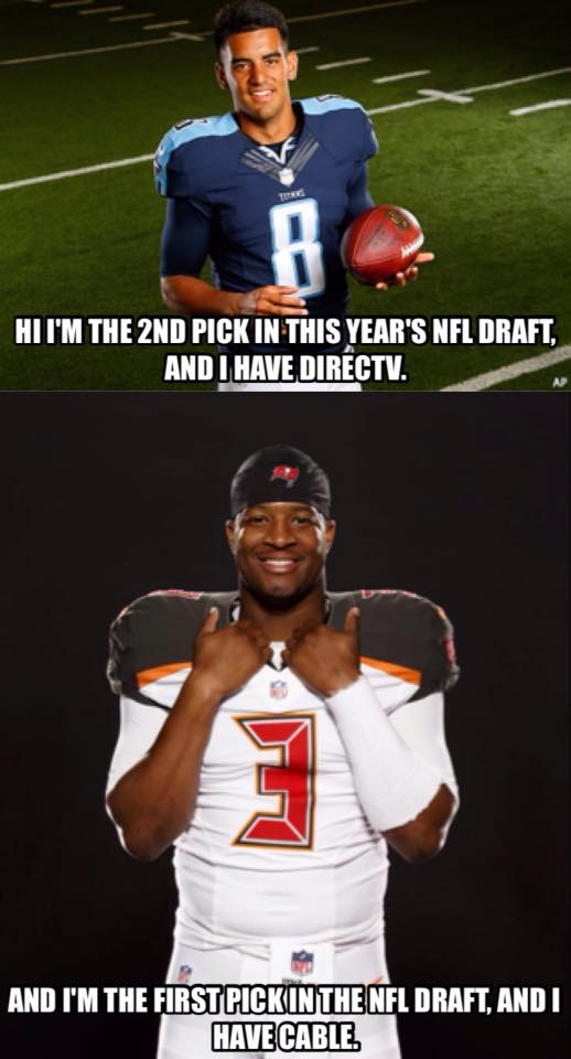 First vs second pick