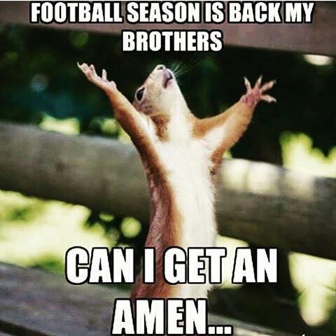 Football season is back