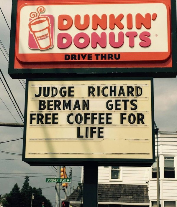 Free coffee for life
