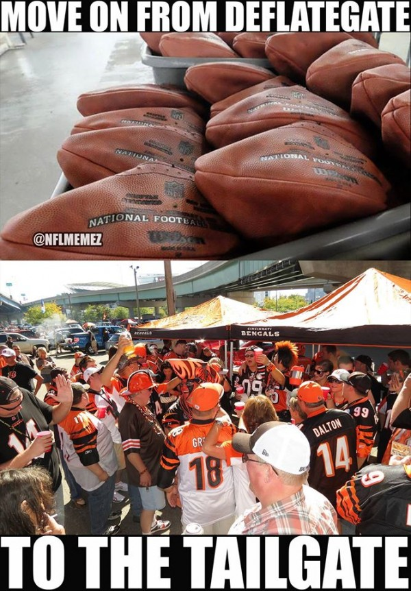From Deflategate to Tailgate