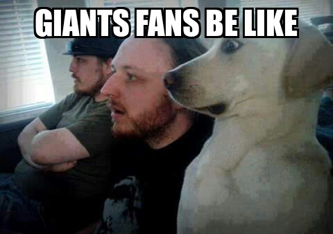 Giants fans stunned