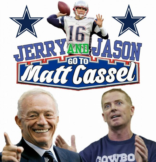 Going to Matt Cassel