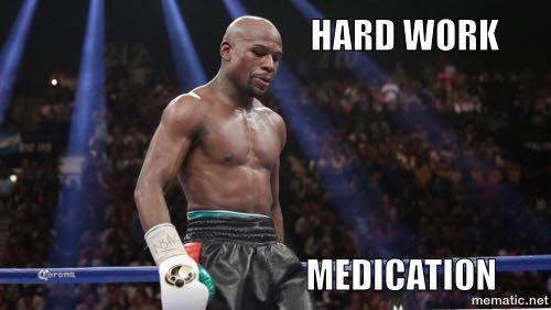 Hard work Medicaton