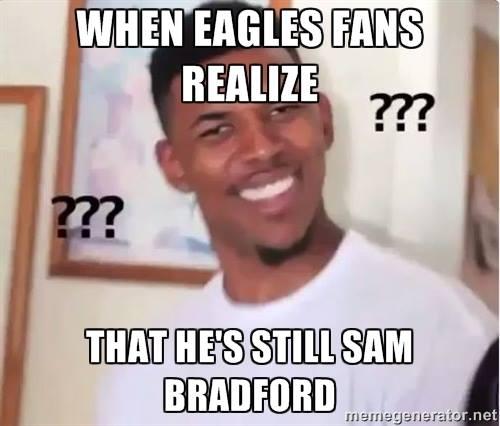He' still Bradford
