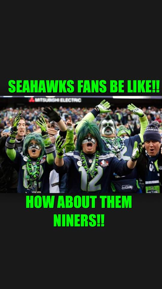 How about them Niners
