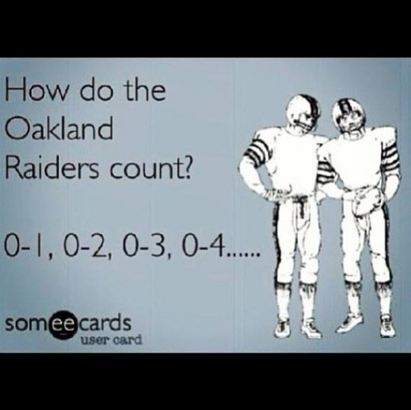 How do Raiders count