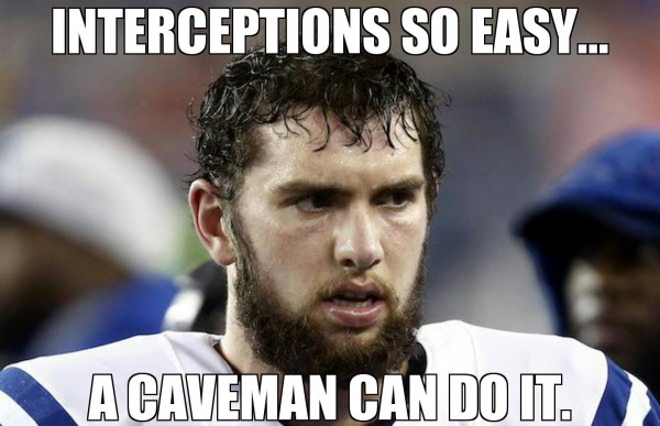 Interceptions are easy